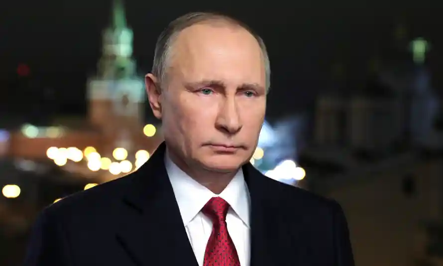 Vladimir Putin in 2016.