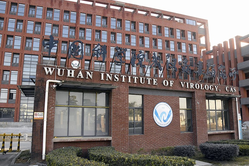 The Wuhan Institute of Virology building in Wuhan, China
